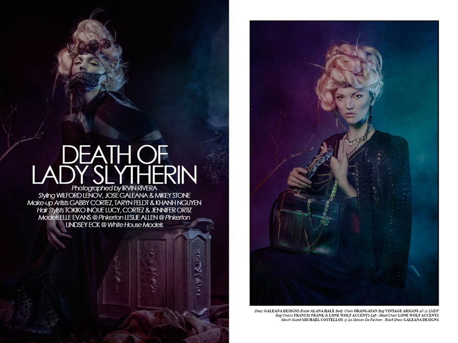 Death of Lady Slytherin