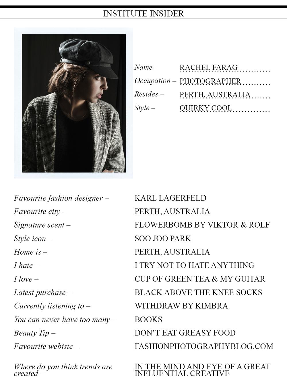 Rachel Farag Profile 2