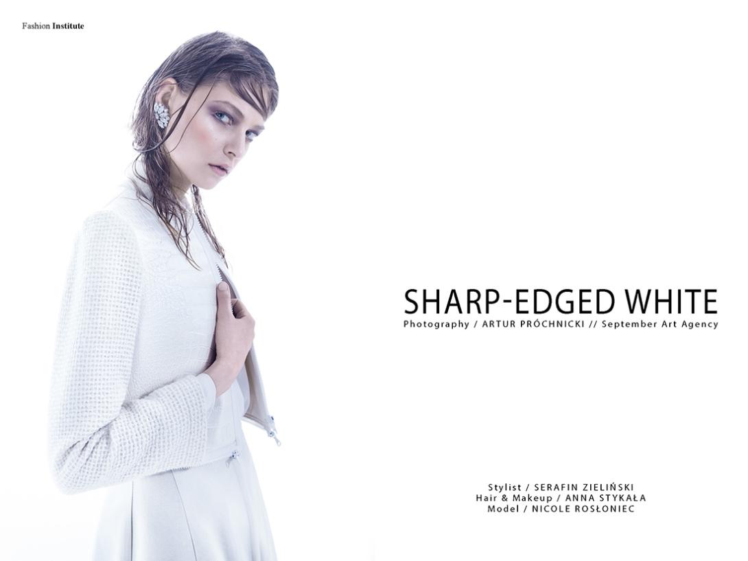 Sharp-edged White