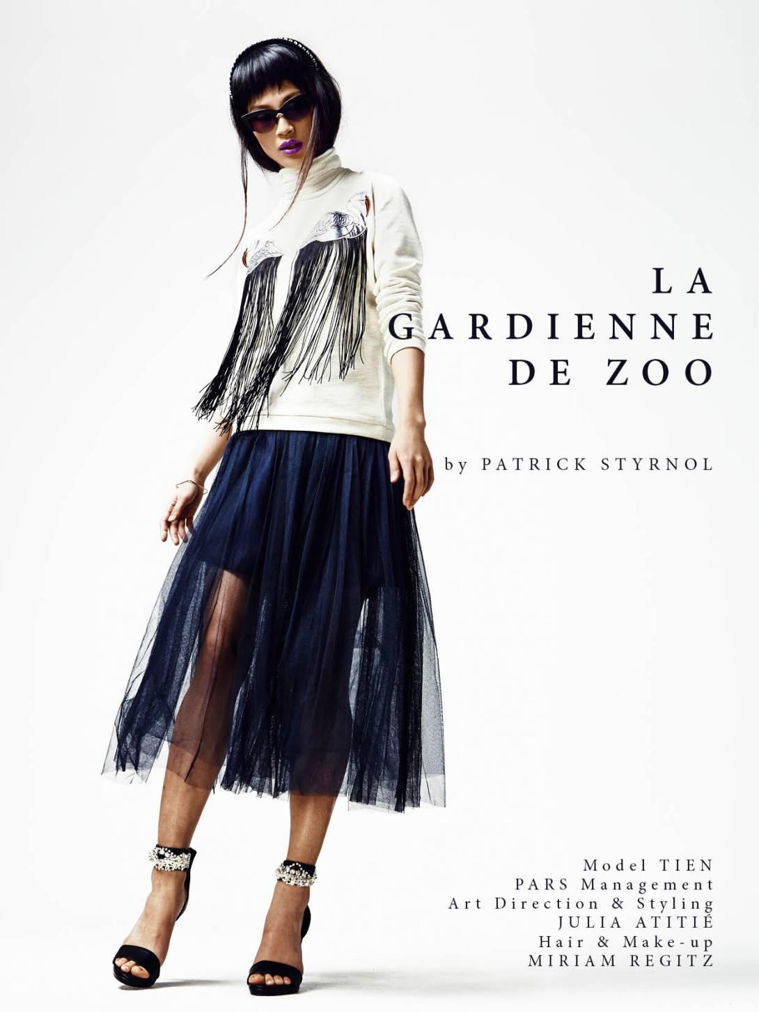 La gardienne de zoo
