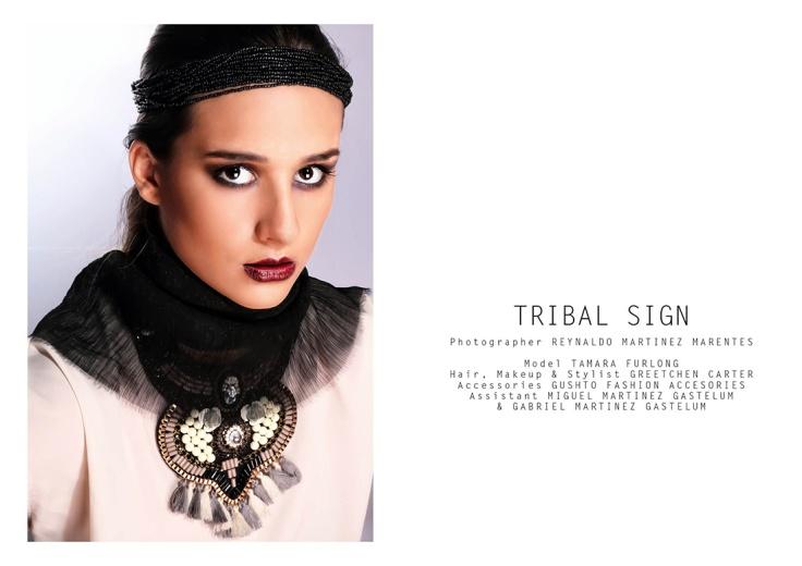 TRIBAL sign