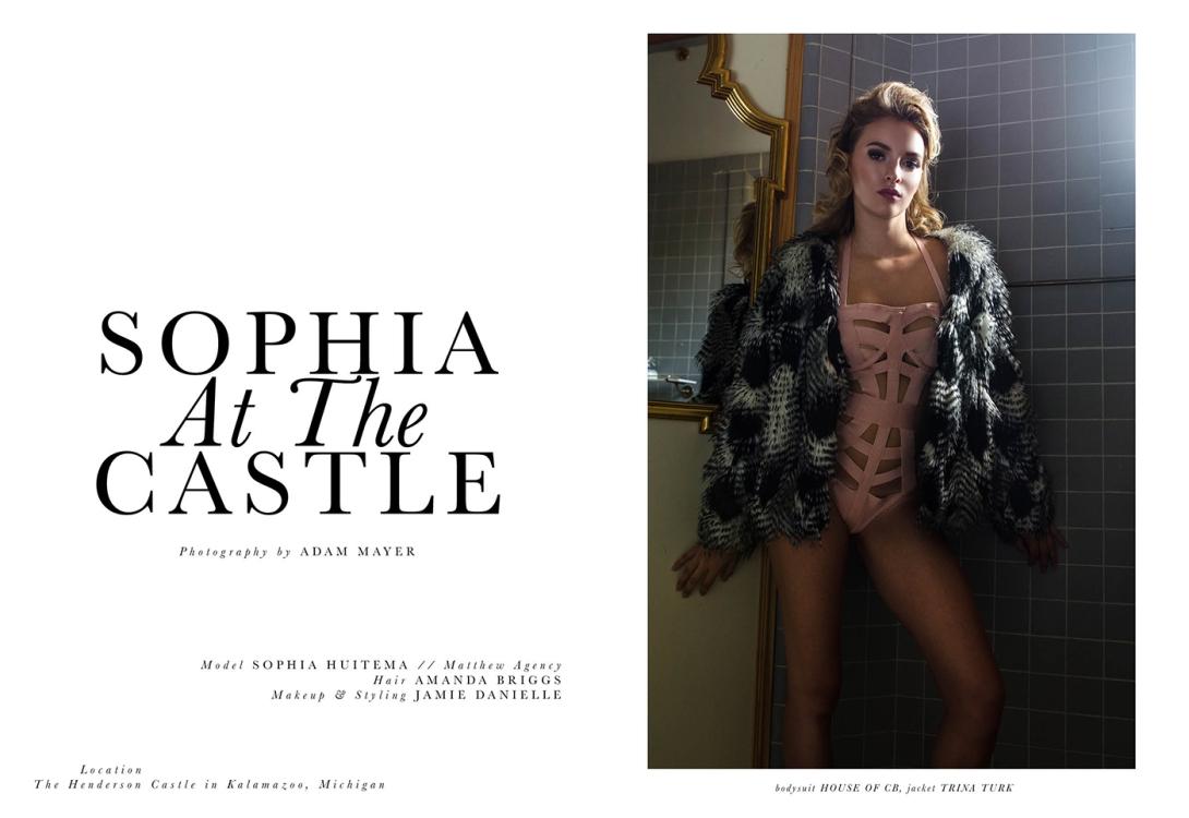 Sophia At The Castle