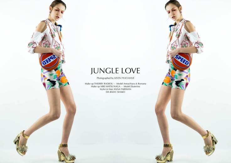 Jungle Love Title