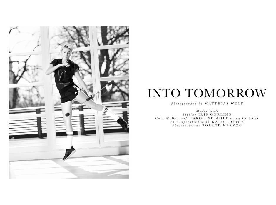 Into Tomorrow