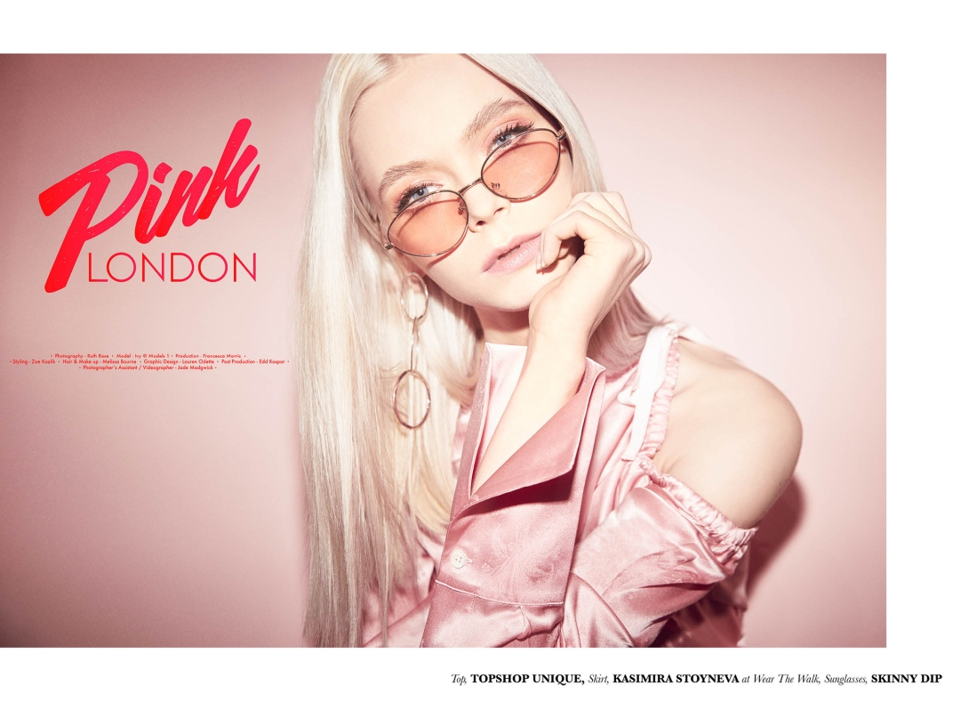 Pink London new