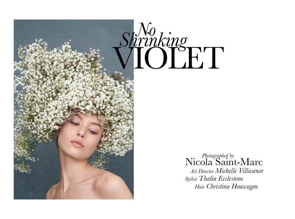 No Shrinking Violet